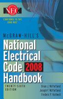 McGraw-Hill National Electrical Code 2008 Handbook, 26th Ed. Pdf/ePub eBook