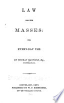 Law for the Masses