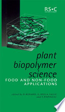 Plant Biopolymer Science Book PDF