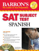 Barron's SAT Subject Test Spanish with Audio CD