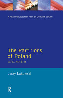 Pdf The Partitions of Poland 1772, 1793, 1795 Telecharger