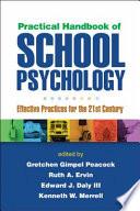 Practical Handbook Of School Psychology Book PDF