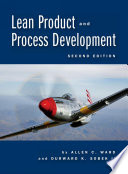 Lean Product And Process Development 2nd Edition Book PDF