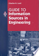 Guide To Information Sources In Engineering