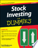 Stock Investing For Dummies Book
