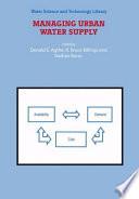 Managing Urban Water Supply