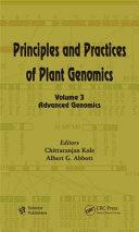 Principles and Practices of Plant Genomics  Volume 3 Book