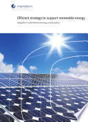 Efficient Strategy to Support Renewable Energy Book