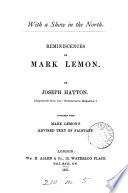 Reminiscences of Mark Lemon
