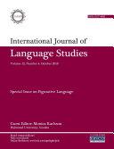International Journal of Language Studies (IJLS) Ð volume 12(4)