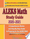 ALEKS Math Study Guide 2020   2021