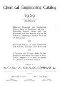 Chemical Engineering Catalog