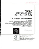 1967 Census of Business: Wholesale trade