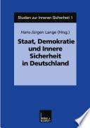 Staat, Demokratie und Innere Sicherheit in Deutschland