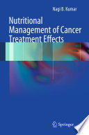 Nutritional Management of Cancer Treatment Effects Book
