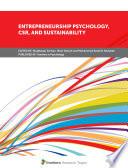 Entrepreneurship Psychology Csr And Sustainability