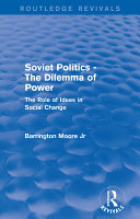 Revival  Soviet Politics  The Dilemma of Power  1950