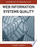 Handbook of Research on Web Information Systems Quality Book