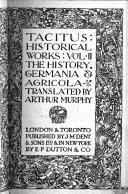 Tacitus: Historical Works