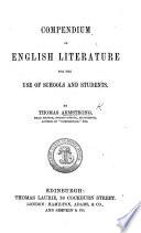 Compendium of English Literature Book