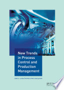 New Trends In Process Control And Production Management Book PDF