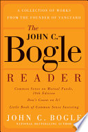 The John C Bogle Reader Book PDF