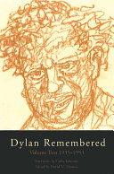 Dylan Remembered  1935 1953 Book