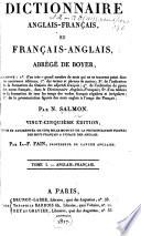 Dictionnaire Anglais Fran Ais Et Fran Ais Anglais Abr G De Boyer