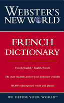 Pdf Webster's New World French Dictionary
