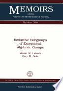 Reductive Subgroups of Exceptional Algebraic Groups