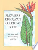 Flowers of Hawaii Coloring Book