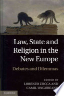 Law State And Religion In The New Europe