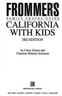 Frommer's Family Travel Guide California with Kids