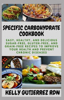 Specific Carbohydrate Cookbook Book PDF