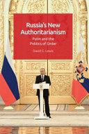 Russia's New Authoritarianism [Pdf/ePub] eBook