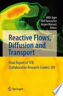 Reactive Flows  Diffusion And Transport