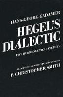 Hegel s Dialectic