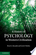 A History of Psychology in Western Civilization Book