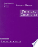 Solutions Manual Physical Chemistry