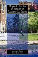 Hispanic Studies in Honor of Robert L  Fiore
