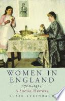 Women In England 1760 1914