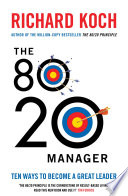 The 80 20 Manager