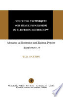 Computer Techniques for Image Processing in Electron Microscopy Book