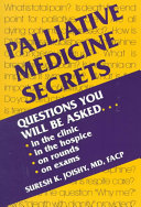 Palliative Medicine Secrets Book
