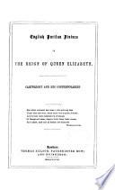 English Puritan Divines in the Reign of Queen Elizabeth