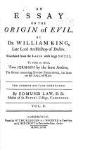 An Essay on the Origin of Evil ebook