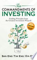 Ten Commandments of Investing