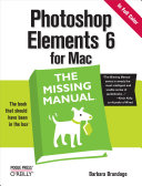 Photoshop Elements 6 for Mac  The Missing Manual
