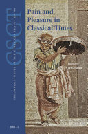 Pain and Pleasure in Classical Times