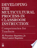 Developing The Multicultural Process In Classroom Instruction